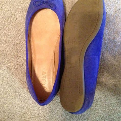 cobalt blue flats shoes 62 j crew shoes jcrew cobalt blue flats size 7