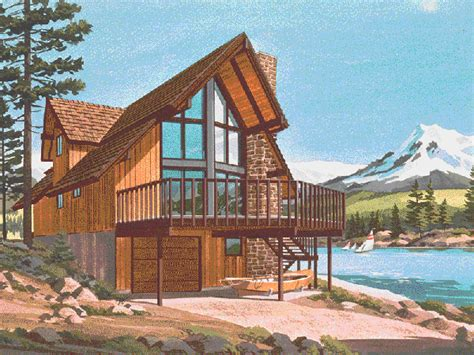 a frame lake house plans pine peak rustic a frame home plan 072d 0759 house plans