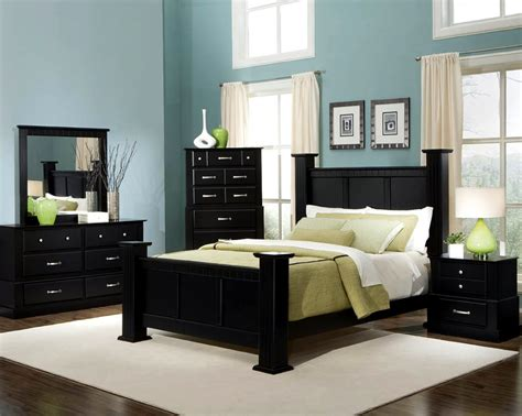 Bedroom With Dark Furniture | master bedroom paint color ideas with dark furniture