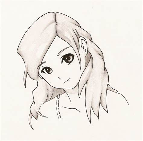 Drawings Easy by Easy Anime Drawing Sketch Gallery