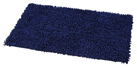Navy Bath Rug by Shaggy Loop Bath Rug Navy Blue Bath Mats