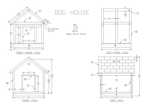 dog house drawings 20 free dog house diy plans and idea s for building a dog kennel