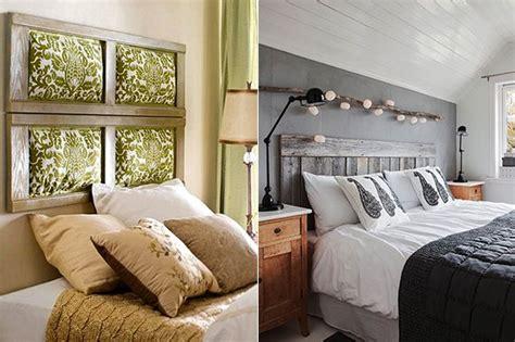 50 schlafzimmer ideen f 252 r bett kopfteil selber machen - Bett Kopfteil Dekorieren