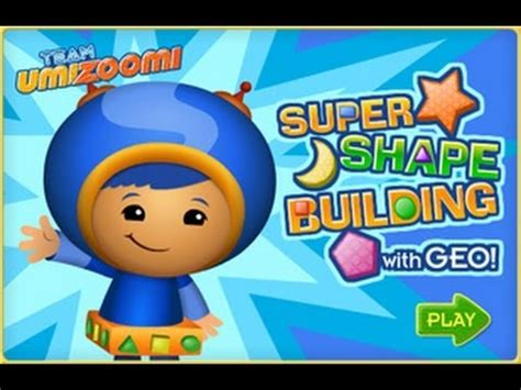 team umizoomi super shape building with geo kids game
