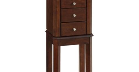 threshold jewelry armoire threshold jewelry armoire espresso our modern rustic
