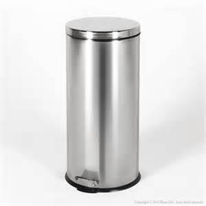 poubelle de cuisine 224 p 233 dale ronde en inox 30l