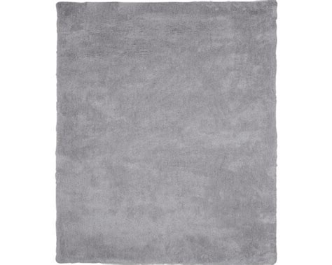 hornbach teppich hochflor teppich wellness hellgrau 80x150 cm jetzt kaufen