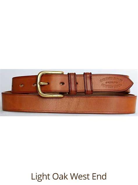 Handmade Leather Belts Uk - 1 188 quot bridle handmade leather belt quality oak bark