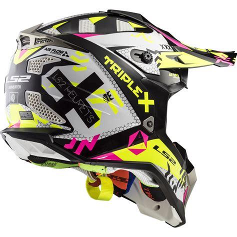 ls2 motocross ls2 mx470 subverter triplex motocross helmet bike crash