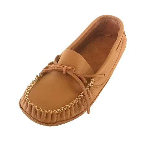 mens moccasin slippers soft sole s wide soft sole genuine cowhide leather indoor