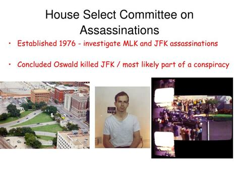 House Select Committee by Ppt Jfk Assassination Lbj Powerpoint Presentation Id