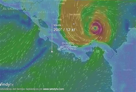 imagenes satelitales de huracanes en vivo diario extra siga en vivo el paso del hurac 225 n otto
