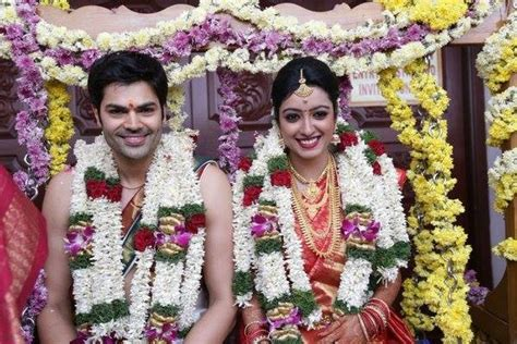 actor ganesh venkatraman age ganesh venkatraman and nisha krishnan wedding pictures