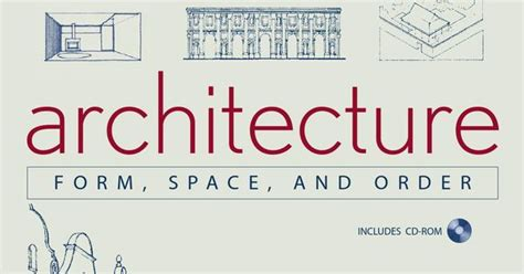 layout traduccion en español francis ching d k architecture form space and order