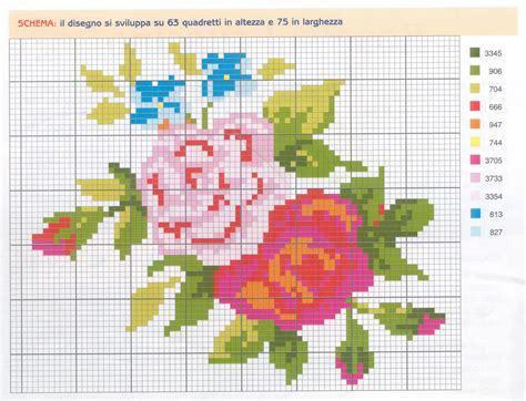 schemi punto croce per cuscini schema punto croce cuscino middle 1