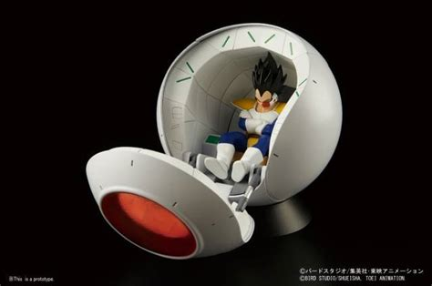 z figure rise mechanics saiyan space pod