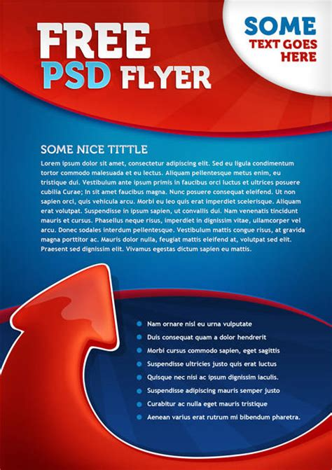 design flyer online for free 35 attractive free flyer templates and designs for