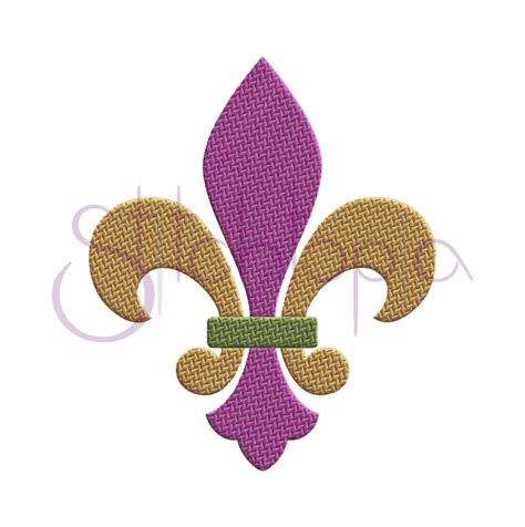 Machine Embroidery Designs For Kitchen Towels by Fleur De Lis Embroidery Design Stitchtopia