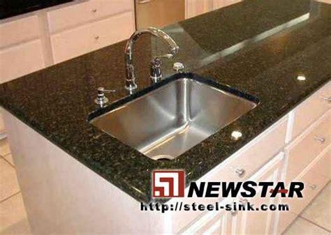 free sink with granite countertop undermount stainless steel sink with granite countertop