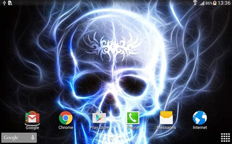 wallpaper live girl apk skulls live wallpaper android apps on google play