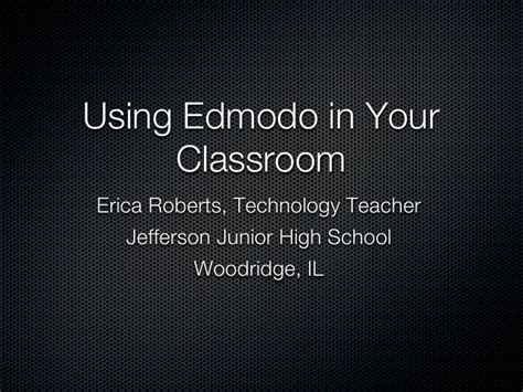 edmodo high edmodo in your classroom