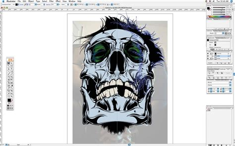 tutorial illustrator t shirt design adobe illustrator tutorial create awesome vector skull