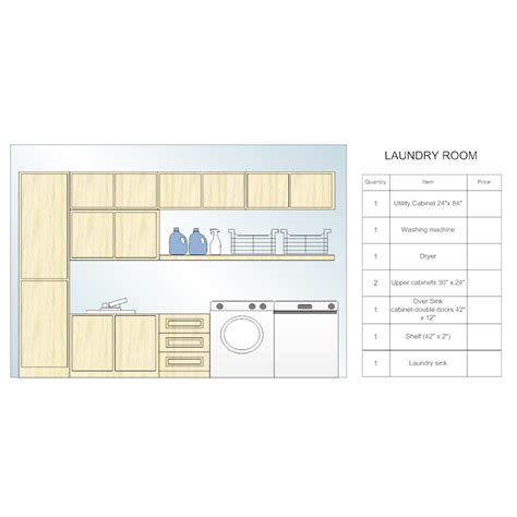 utility room floor plan laundry room design