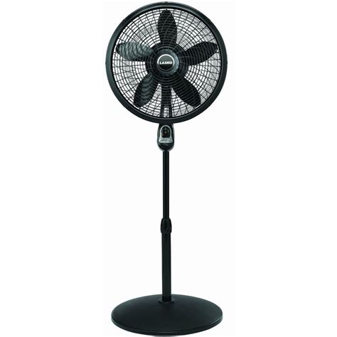 Feature Comforts Window Fan by Lasko 1843 18 Quot Black Pedestal Oscillating Programmable