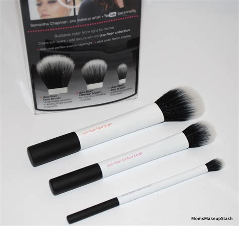 Real Techniques Duo Fiber Collection Limited Edition real techniques duo fiber brush collection limited edition makeup stash