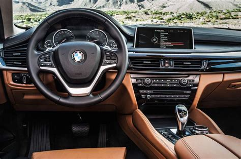 Bmw Upholstery by 2016 Bmw X6 Interior