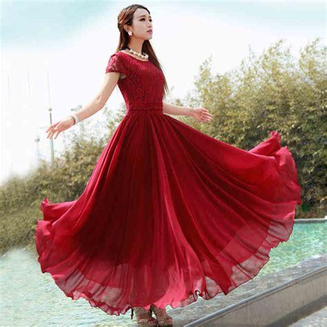 Dress Tanpa Lengan Dengan Aksen Kalung J08013 1 5 model dress lengan pendek untuk segala suasana modelbusana