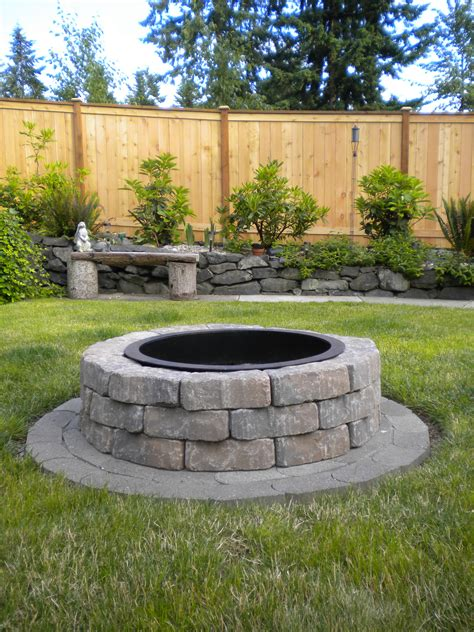 outdoor fire pit fire pit done outdoors pinterest