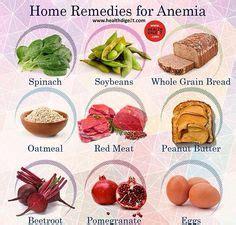 estos alimentos buen 237 simos para combatir la anemia