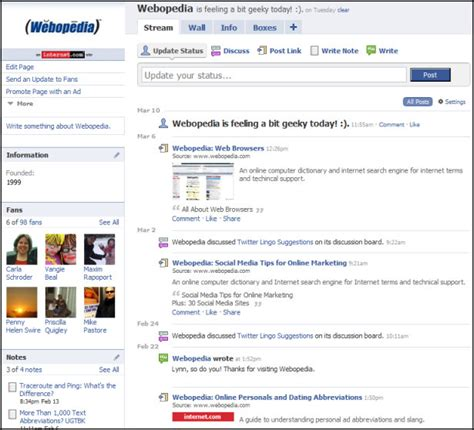 how to make your own facebook page with fans how to create a facebook page for your business webopedia