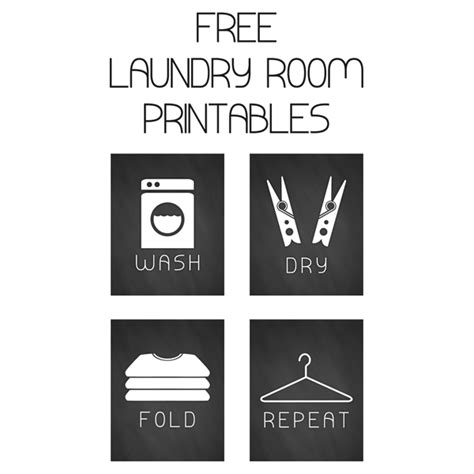 free printable laundry wall art free set of laundry art prints