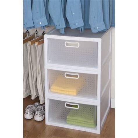 Sterilite Closet Drawer by Sterilite Closet Drawer Organizing