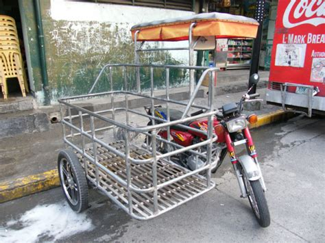 Philippines Motorcycle Sidecar