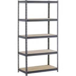 edsal 5 shelf heavy duty steel shelving