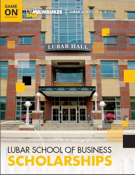 Lubar Mba Curriculum by Business Scholarships Lubar School Of Business