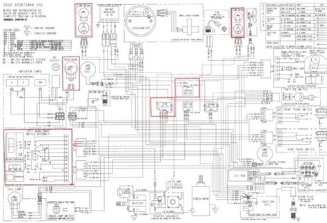 polaris predator 500 wiring diagram wiring diagram and