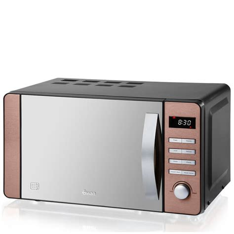 Microwave With Toaster Oven Swan Sm22090copn 20l Digital Microwave Copper Iwoot
