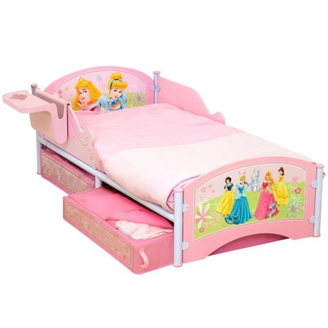 disney toddler beds disney princess junior toddler bed with storage and