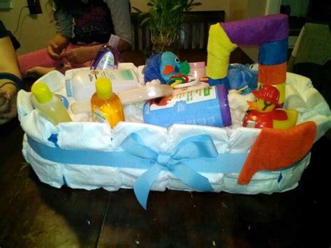 diaper bathtub colorful boys bath tub diaper gift cake quot baby shower
