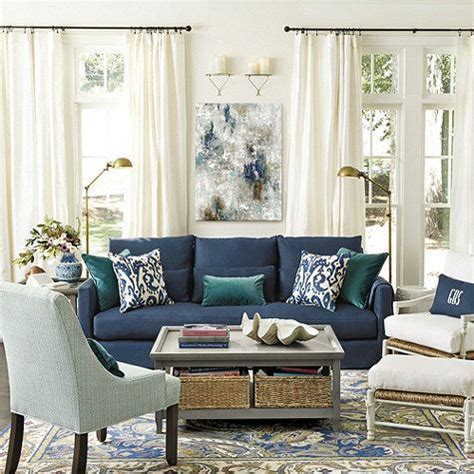 couch: wonderful navy couches navy blue sofa living room