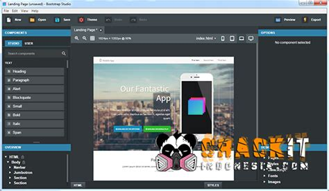templates for bootstrap studio bootstrap studio v2 2 4 pro cracked crackit id