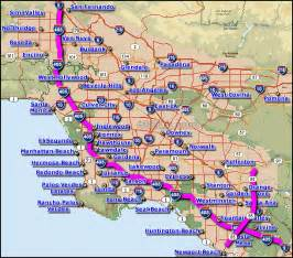 where is costa mesa california on the map costa mesa freeway map