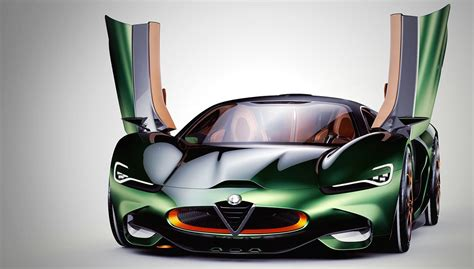 alfa romeo concept cars the alfa romeo furia concept brings history to the 21st