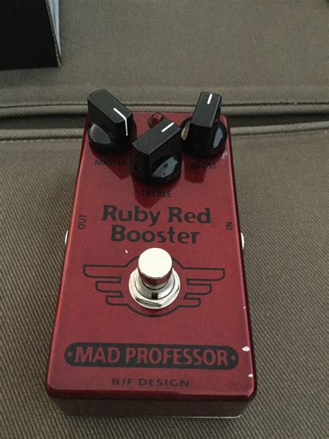 Booster X By Mad Prof photo mad professor ruby booster mad professor ruby booster 13330 1603192
