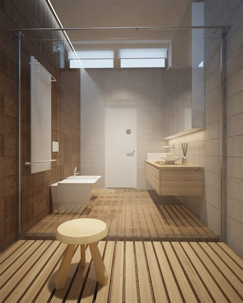 wood shower floor 3 luxury homes taking different approaches to wall