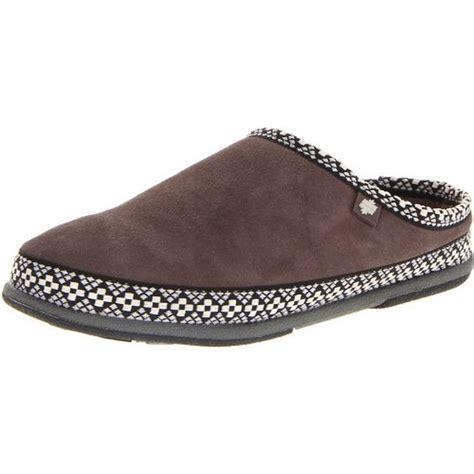 womens outdoor slippers foamtreads 2439 womens mercury suede indoor outdoor pattern clog slippers bhfo ebay